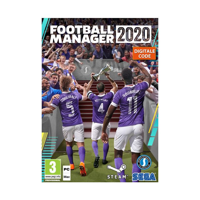Football Manager 2020 Pc Mac Steam Key